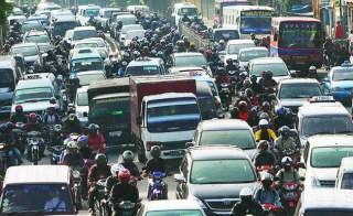 Kemacetan di salah satu ruas Ibu Kota (inet) - Foto: terasjakarta.com