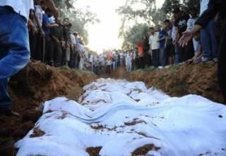 Korban meninggal dikubur secara massal (islammemo.cc)
