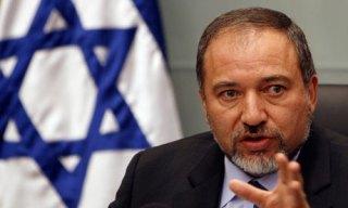 Menteri luar negeri Israel Avigdor Lieberman (guim.co.uk)