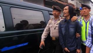 Cecep Solihin saat diamankan Polrestabes Bandung - Foto: tempo.co