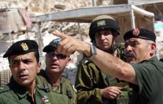 Anggota kepolisian PLO dan keamanan Israel (paltimes)
