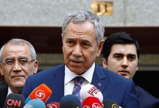 Wakil perdana menteri Turki, Bülent Arınç (Anadolu)