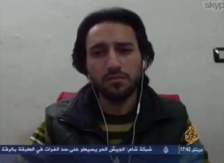 Ammar Alhaj, koresponden Aljazeera (akamaihd.net)