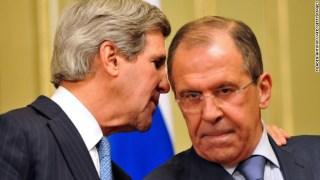 John Kerry dan Sergei Lavrov (cnn)