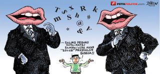 Perang kata-kata (ilustras) - (Foto: serliafrelita.blogspot.com)