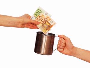 Peminta sumbangan (inet) - tribunnews.com