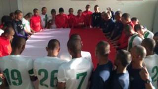 Timnas U-19 berdoa dengan khusuk sebelum bertanding - (Foto: jpnn.com)