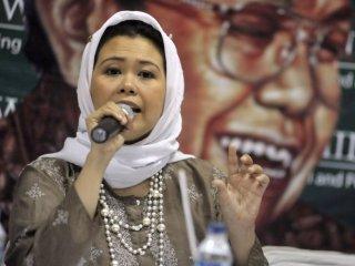 Putri Presiden RI ke-4, Abdurrahman Wahid alias Gus Dur, Yenny Wahid - (Foto: lensaindonesia.com)