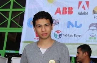Abdullah 'Ashim, penemu termuda Mesir yang menentang kudeta militer (rassd)