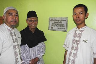 Tim BWA saat silaturahim dengan ulama kharismatik Buya Masoed Abidin, Dai yang pernah berdakwah ke kerinci pada tahun 1980-an - (media.bwa)