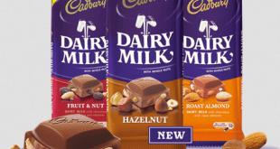 Cadbury Dairy Milk Hazelnut, Salahsatu coklat Cadbury yang mengandung Enzim Babi dan beredar di Malaysia - (ceritasemasa.com)