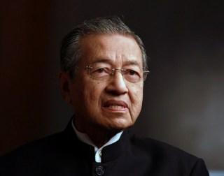 Mantan PM Malaysia, Mahathir Mohamad (lazuardi.birru.blogspot)