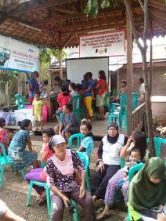 Pilot Project Kawasan Bebas TB di RW 07 Kampung Tengah, Kramat Jati, Jakarta Timur. - (fer/eko/pkpu)