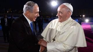 Kunjungan Paus Fransiskus ke Israel beberapa waktu lalu (nationaljournal.com)
