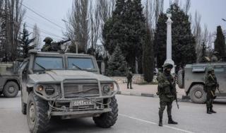 MIliter Ukraina di kota Donetsk (Albasheer)