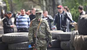 Pemberontak pro-Rusia di wilayah timur Ukraina (islammemo.cc)