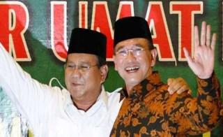 Prabowo Subianto dan Suryadharma Ali - Foto: terasjakarta.com