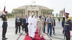 Presiden Emirat Muhammad bin Zayed berkunjung ke Mesir begitu kudeta militer terjadi (islamion)