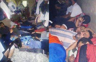 Suasana di tahanan kudeta yang penuh sesak (alsafwanews.com)
