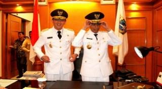 Gubernur dan Wakil Gubernur DKI Jakarta (okezone.com)