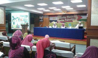 "Dialog Dunia Islam ""Derita Mesir, Derita Palestina"" di Aula 34 Masjid Istiqlal Jakarta Pusat, Sabtu (31/5).  (komnas kdm)"