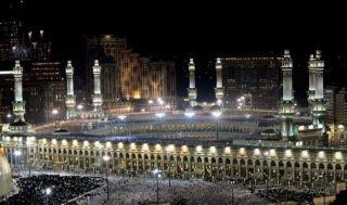 Masjidil Haram, Makah.  (izismile.com)