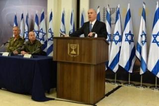 Benjamin Netanyahu dalam konferensi pers (paltimes.net)