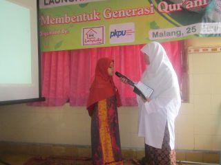 Launching Rumah Tahfizh Qur'an di Piere Tendean, pada Rabu siang (25/6/14).  (kis/pkpu)