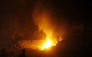 Serangan roket Israel ke Jalur Gaza (paltimes.net)