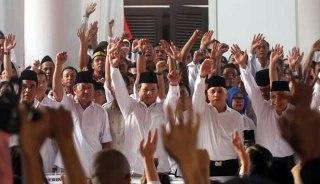 Koalisi Merah Putih. (VIVAnews/Muhamad Solihin)