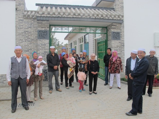 Kampung Muslim suku Hui di Kota Wuzhong, China. (detik.com)