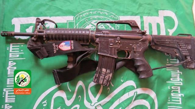 senapan mesin M-16