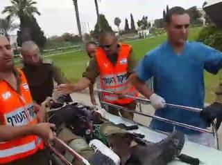 Tentara Israel yang terkena serangan pejuang Palestina (islammemo.cc)