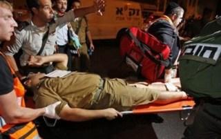 Tentara Israel yang terluka akibat serangan pejuang Palestina (arsip - paltimes.net)