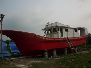 Pembangunan Kapal Jelajah Pulau Terpencil Nusantara sudah berjalan 70 Persen. (media.bwa)