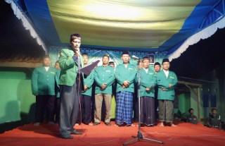 Pelantikan pengurus PAC GP ANSOR Jatibarang periode 2014-2017. Sabtu 9/8/14.  (hadimulyanto)