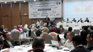 Komite Nasional untuk Rakyat Palestina (KNRP) mengikuti konferensi 'International Public Foundation to Aid Gaza' yang berlangsung hari ini Sabtu (30/8/14) sampai Ahad (31/8/14) di Istanbul, Turki.  (KNRPMedia)