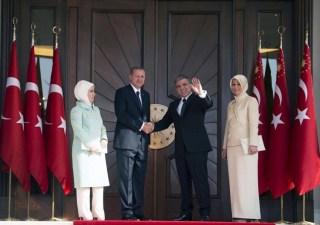 Recep Tayyip Erdogan dan Abdullah Gul (akhbaralaalam)