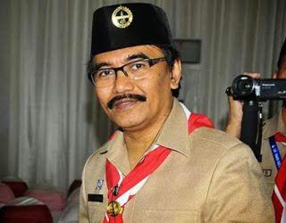 Adhyaksa Dault, Ketua Kwartir Nasional Gerakan Pramuka.  (pramukaria.blogspot.com)
