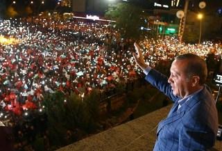 Pidato kemenangan Erdogan (Anadolu)