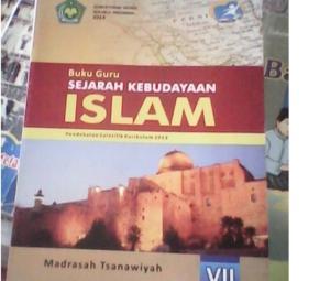 Buku Sejarah Kebudayaan Islam (SKI) kelas VII Madrasah Tsanawiyah yang bermasalah. (satuislam.org)