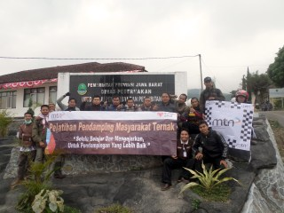 MTN melakukan studi banding ke BPPTD Margawati yang berlokasi di Kel. Sukanegla, Kec. Garut Kota, Kab. Garut. Senin (1/9/14).  (sayasih/MTN)