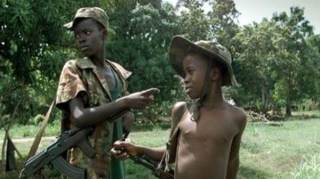 Anak-anak dalam pasukan Sudan Selatan (Islammemo)