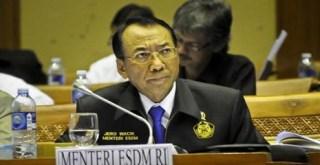 Menteri Energi dan Sumber Daya Mineral (ESDM), Jero Wacik, (kemendagri.go.id)