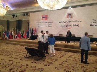 Konferensi Rekonstruksi Gaza yang digelar di Kairo beberapa hari lalu (safa.ps)
