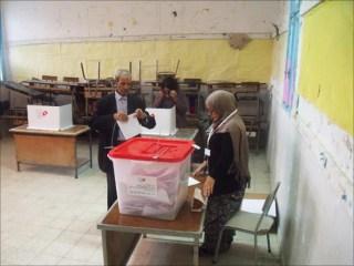 Pemungutan suara Pemilu Legislatif di Tunisia (aljazeera.net)