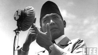 Soekarno, Presiden RI Pertama (inet)