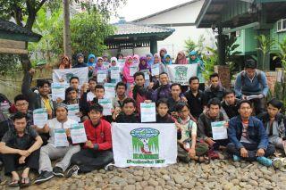 Peserta KAMMI Super Leadership Training, Bogor 17-19 Oktober 2014.  (Irfan/KAMMI UNJ)