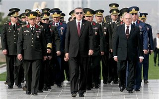 Erdogan dan pejabat militer Turki (nationalturk)