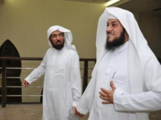 Syaikh Salman Audah dan Syaikh Muhammad Al-Arifi. (Al--Quds)